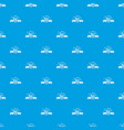 sleeping pattern seamless blue vector image vector image