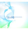 wave of lights business wallpaper vector image