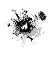 Children Dandelion Flight Concept vector image vector image