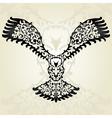 decorative eagle vector image