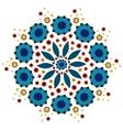 Dymkovo pattern vector image vector image