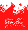 hare letter vector image vector image