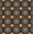 The pattern flowers abstraction background vector image vector image