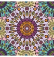 Violet colored seamless pattern with eastern vector image vector image