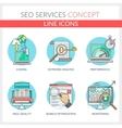 SEO Services vector image