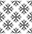 seamless flower pattern Geometric seamless vector image