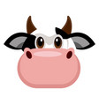 avatar of a cow vector image vector image