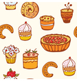 cake wallpaper vector image vector image
