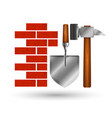 construction and repair symbol vector image vector image