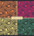 fashion print cut stone pattern vector image vector image