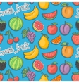 Fresh fruit pattern vector image vector image
