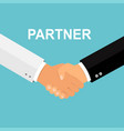 handshake icon shake hands agreement good deal vector image