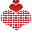 Hearts 02 resize vector image vector image