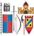knight armor icons set 2