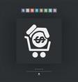 money cart icon vector image vector image