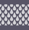 striped drop seamless pattern vector image
