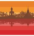 Sukhothai Historical Park Sukhothai Province vector image vector image