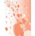 two tone baloons vector image