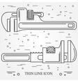 Wrench Icons Wrench Icons Wrench Icons Drawing Wr vector image