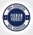 premium product badge vector image