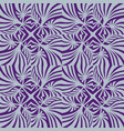 abstract geometric pattern wave seamless texture vector image vector image