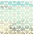 Retro pattern of geometric hexagon shapes vector image vector image