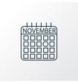 thanksgiving day icon line symbol premium quality vector image vector image