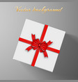 elegant festive invitation template vector image
