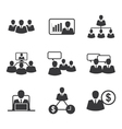 icon business office vector image vector image