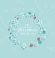 merry christmas elegant greeting design background vector image vector image