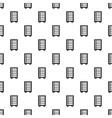 Security safe locker pattern simple style vector image