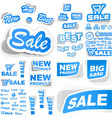 vector signs for sale vector image vector image