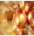Golden shining mosaic abstract background vector image