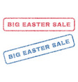 big easter sale textile stamps vector image vector image