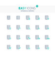 easy icons 23e database vector image vector image