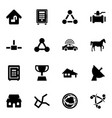 eps icons vector image vector image