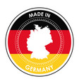 germany design culture icon flat vector image vector image