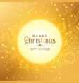 premium golden background for christmas festival vector image vector image