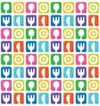 Seamless pattern with spoon fork plate and knife
