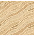Seamless sand texture vector image vector image