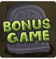 Symbol 13 Bonus game vector image vector image