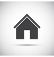 Simple home icon for your web design vector image