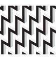 3D Zig Zag Geometric Seamless Pattern vector image vector image
