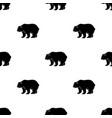 canadian brown bear canada single icon in black vector image vector image