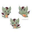 Cat dragon vector image