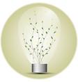 florarium in a light vector image