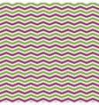 greenery and pink chevron seamless pattern vector image vector image