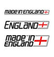 made in england vector image
