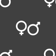 male and female icon sign Seamless pattern on a vector image vector image