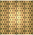 metallic background of long plate steampunk vector image vector image